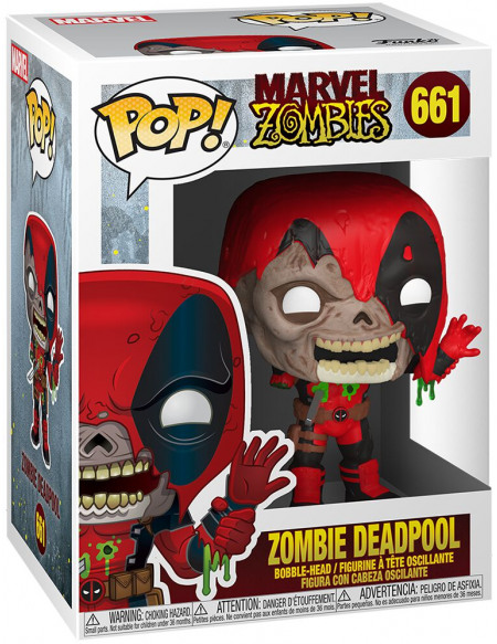 Figurine Funko Pop Marvel Zombie Deadpool