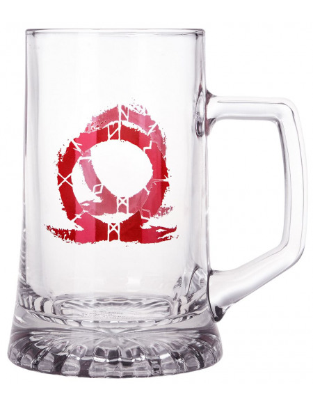 God Of War Logo Serpent Chope à bière Standard