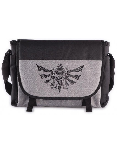 The Legend Of Zelda Logo Tri-Force Besace noir/gris