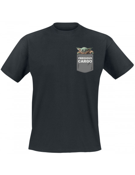 Star Wars The Mandalorian - Precious Cargo T-shirt noir