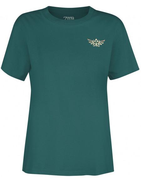 The Legend Of Zelda Loup T-shirt pétrole