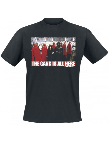 Star Wars The Gang Is All Here T-shirt noir