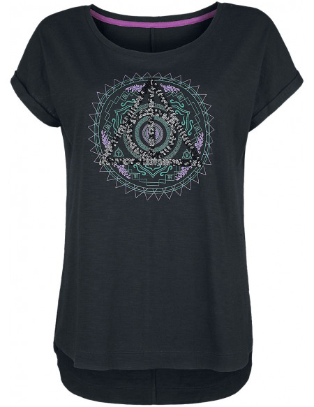 Harry Potter Harry Potter T-shirt Femme noir