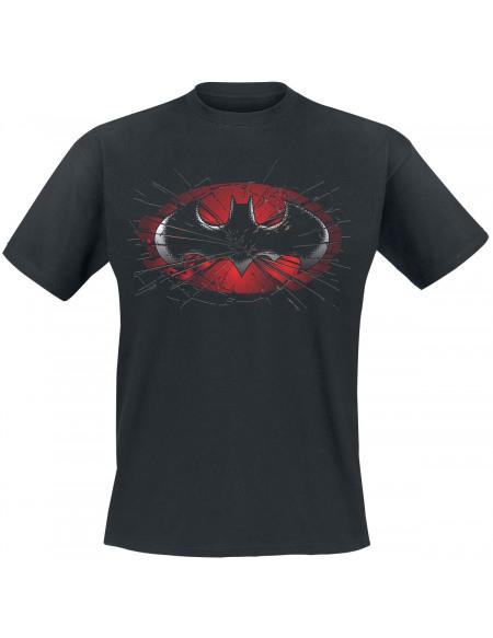 Batman Verre Brisé T-shirt noir