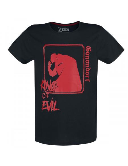 The Legend Of Zelda Ganondorf T-shirt noir/rouge