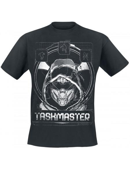 Black Widow Taskmaster T-shirt noir