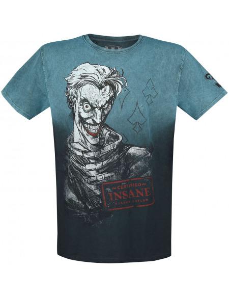 Batman The Joker - Certified Insane T-shirt turquoise