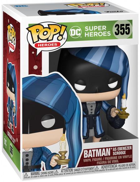 Figurine Funko Pop Heroes DC Holiday Scrooge Batman