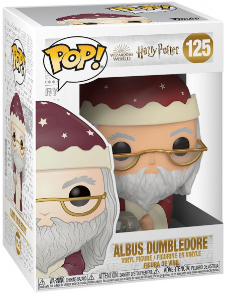 Figurine Funko Pop Harry Potter Holiday Dumbledore