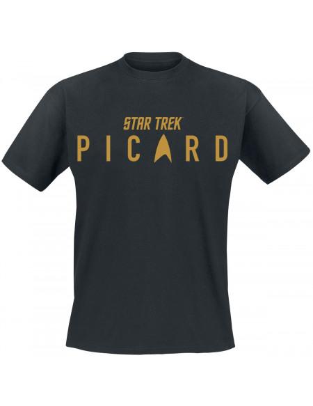 Star Trek Picard - Logo T-shirt noir