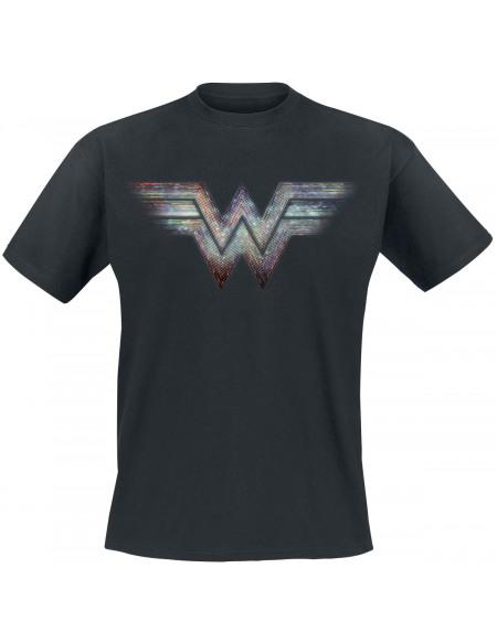Wonder Woman Wonder Woman 1984 - Logo Rétro T-shirt noir
