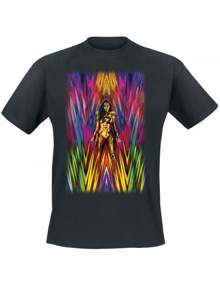 Wonder Woman Wonder Woman 1984 - Poster T-shirt noir