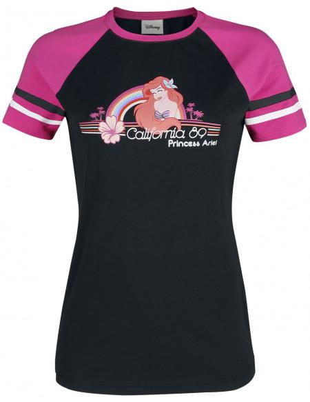 La Petite Sirène California '89 T-shirt Femme noir