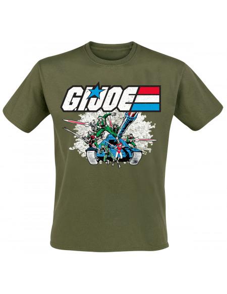 G.I. Joe Tank T-shirt olive