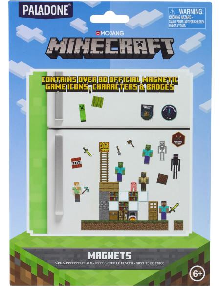 Minecraft Lot D'Aimants Magnette frigo Standard