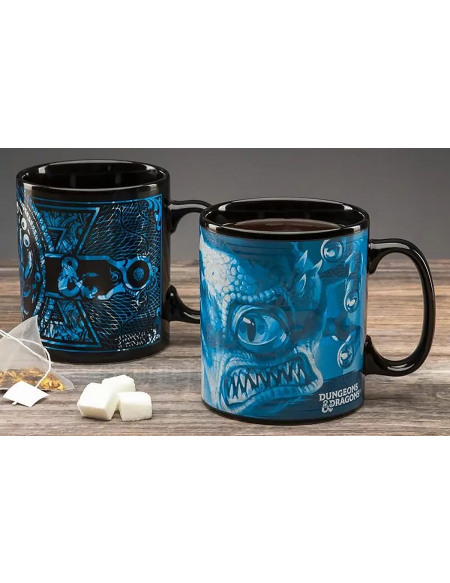 Dungeons and Dragons Donjons & Dragons - Mug Thermo-Réactif Mug multicolore