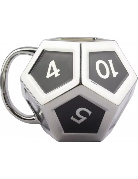 Dungeons and Dragons Dé D12 Mug multicolore