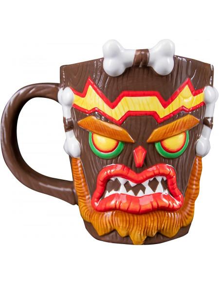 Crash Bandicoot Mug Uka Uka Mug multicolore