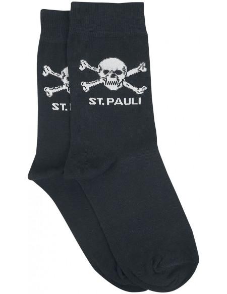 FC St. Pauli FC St. Pauli - Crâne Chaussettes noir