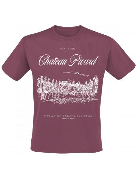Star Trek Chateau Picard T-shirt bordeaux
