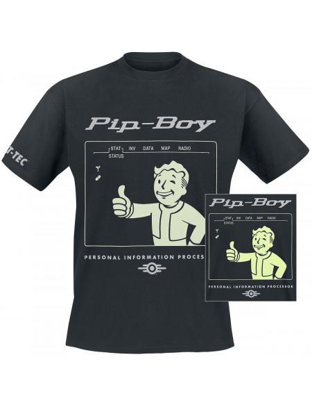 Fallout Pip-Boy T-shirt noir