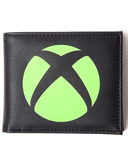 Xbox Logo Portefeuille noir/vert