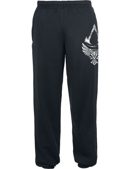 Assassin's Creed Valhalla - Corbeau & Symbole Pantalon de Jogging noir