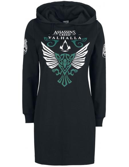Assassin's Creed Valhalla - Corbeau Robe noir
