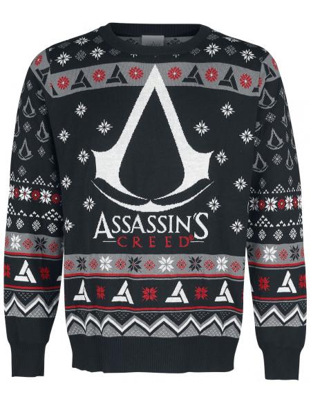 Assassin's Creed Emblème Pull noir