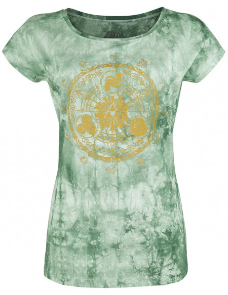 The Legend Of Zelda Hyrule T-shirt Femme vert