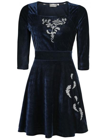 Outlander The Thistle Of Scotland Robe bleu foncé