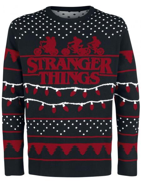 Stranger Things Stranger X-Mas Sweat-shirt multicolore