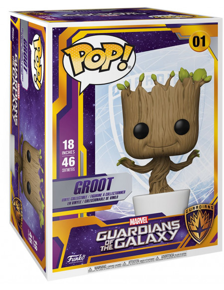 Figurine Funko Super Sized POP! Marvel Guardians of the Galaxy Dancing Groot 46 cm
