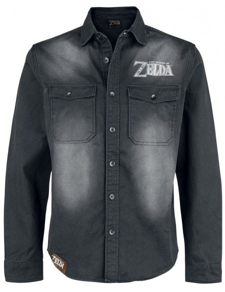 The Legend Of Zelda Hyrule Chemise noir