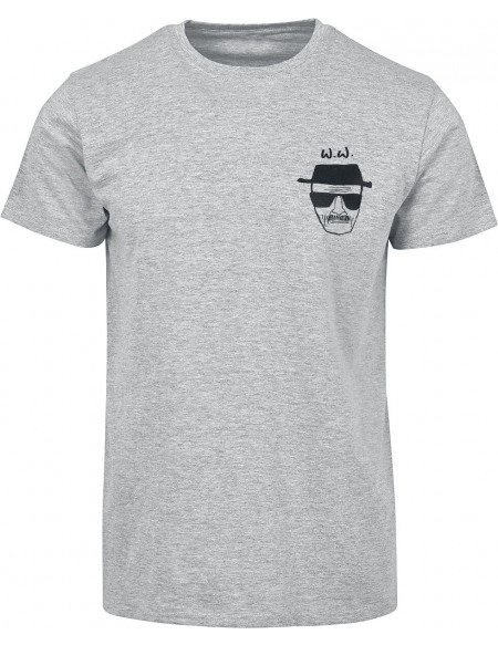 Breaking Bad Say My Name! T-shirt gris chiné