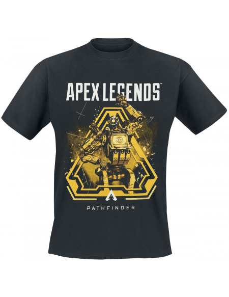 Apex Legends Pathfinder T-shirt noir