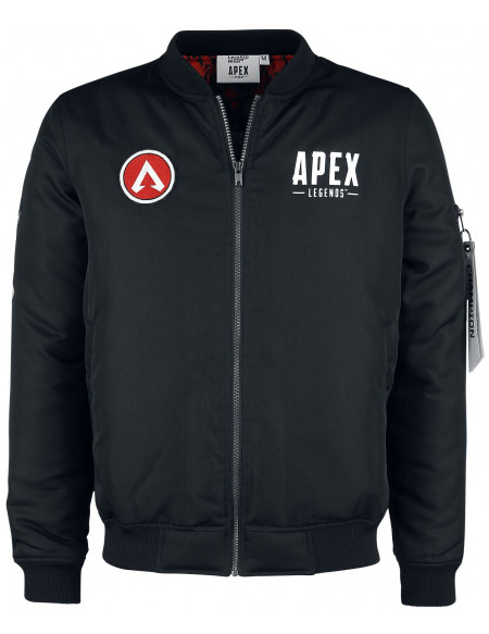 Apex Legends Champion Veste noir