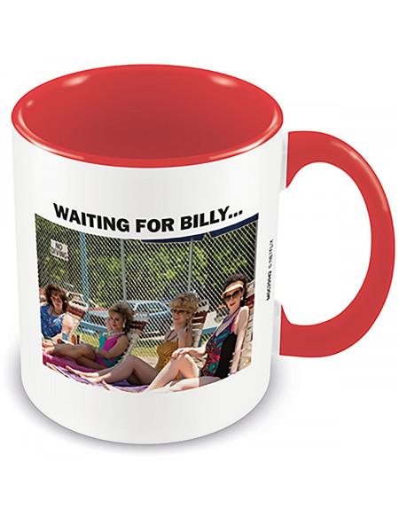 Stranger Things Waiting For Billy Mug blanc