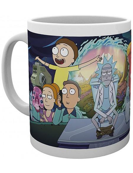 Rick & Morty Saison 4 Partie Une Mug multicolore