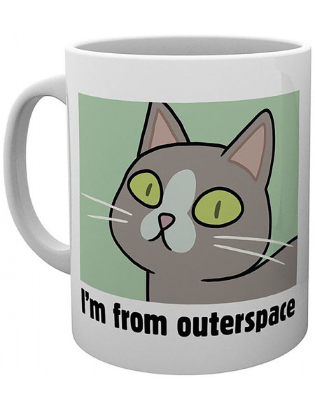 Rick & Morty Outerspace Mug multicolore