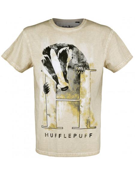 Harry Potter Poufsouffle - Le Blaireau T-shirt jaune