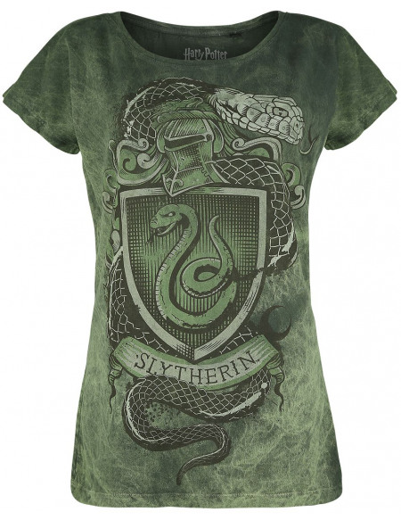 Harry Potter Serpendard - Serpent T-shirt Femme vert