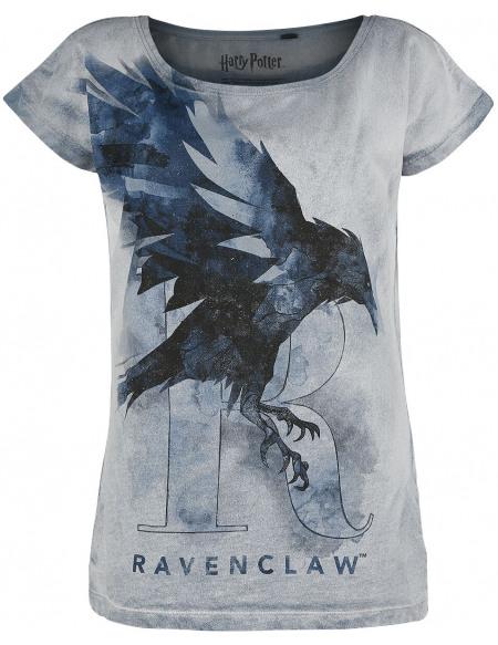 Harry Potter Serdaigle - Corbeau T-shirt Femme bleu