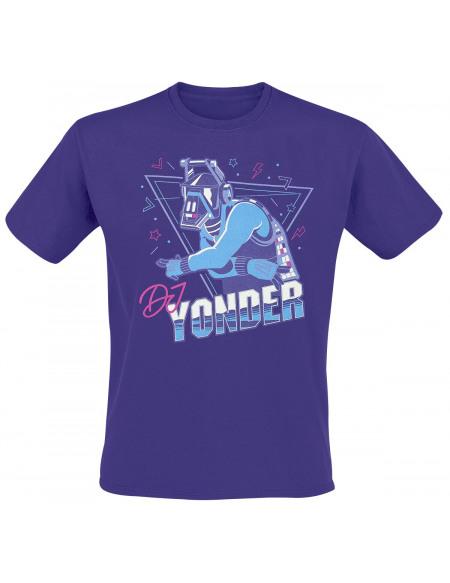 Fortnite DJ Yonder T-shirt lilas