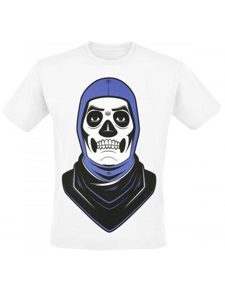 Fortnite Skull Trooper T-shirt blanc