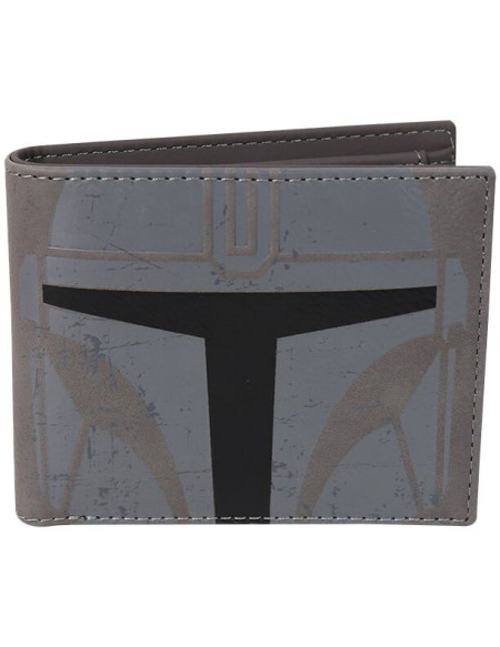 Star Wars The Mandalorian - Mandalorian Portefeuille gris/noir