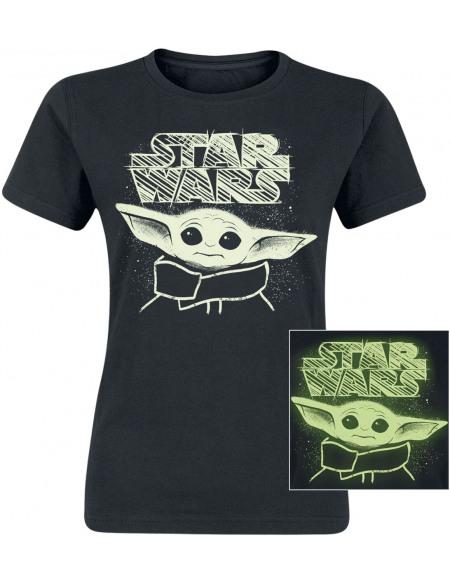 Star Wars The Mandalorian - Don't Make Me Use The Force T-shirt Femme noir