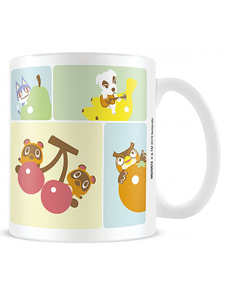 Animal Crossing Personnages Mug blanc