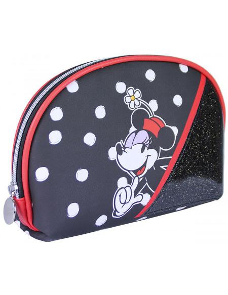 Mickey & Minnie Mouse Minnie Paillettes Trousse de Toilette multicolore