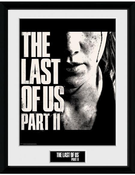 The Last Of Us The Last Of Us 2 - Visage Photo encadrée Standard